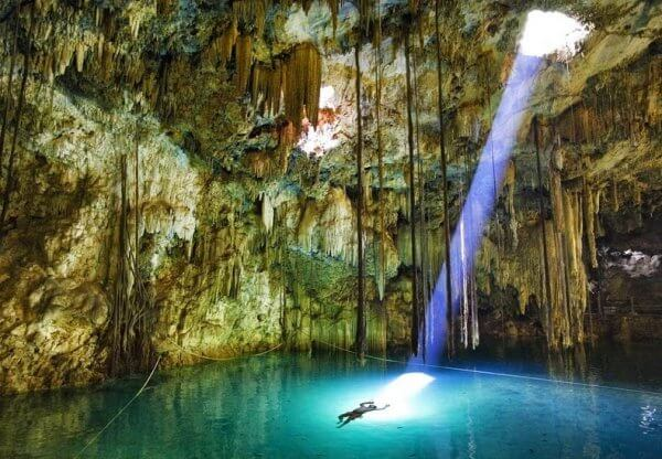 Интересно о пещерах