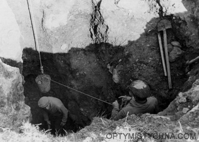 010 1959 ГОД РАСКОПКИ ПЕЩЕРЫ КРИСТАЛЬНОЙ